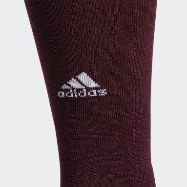Baseball Burgundy Utility OTC Socks