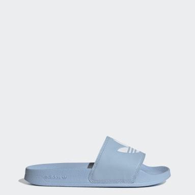 Ženy Originals modrá Pantofle adilette Lite