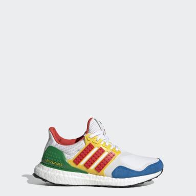 Děti Běh bílá Boty adidas Ultraboost DNA x LEGO® Colors