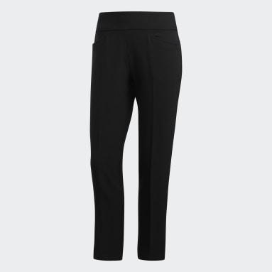 Ženy Golf černá Kalhoty Ultimate365 Adistar Cropped