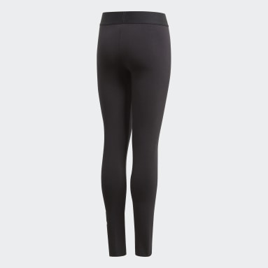 Girls Training Black Must Haves Badge of Sport Tights