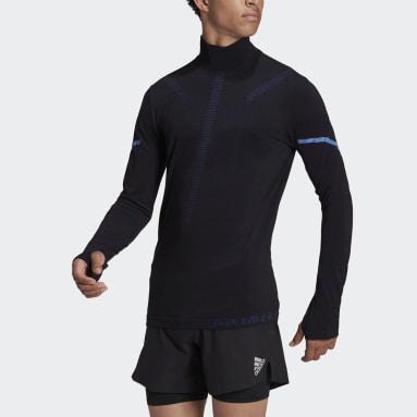 Maglia da running adidas Primeknit Mid-Layer Nero Uomo Running