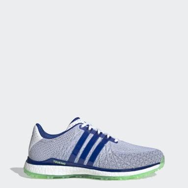 Men's Golf White TOUR360 XT-SL Spikeless Textile Golf Shoes