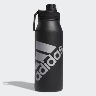 Training Black Steel Metal Bottle 1L