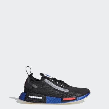 เด็ก Originals สีดำ รองเท้า NMD_R1 Spectoo