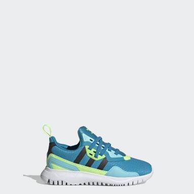Kids Originals Turquoise Originals Flex Shoes