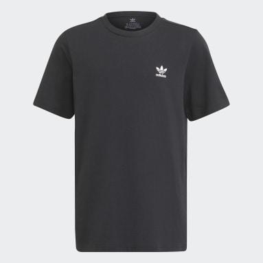 Camiseta Adicolor Negro Niño Originals
