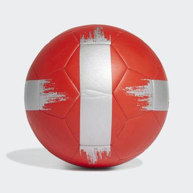 Balón de Fútbol EPP 2 (UNISEX) Rojo Fútbol