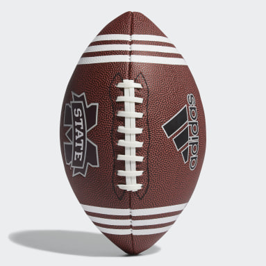 Football Black 3-Stripes University Football