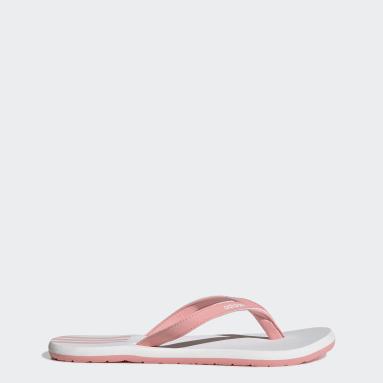 ผู้หญิง ว่ายน้ำ สีชมพู รองเท้าแตะ Eezay