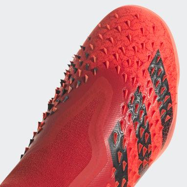 Botas de Futebol Predator Freak+ – Piso sintético Vermelho Futebol