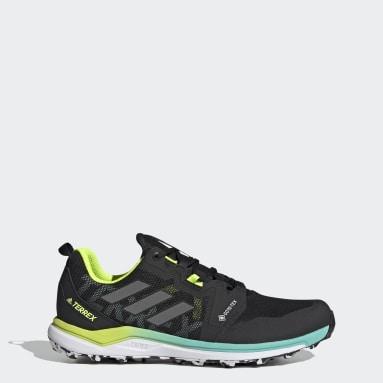 Herr TERREX Svart Terrex Agravic GORE-TEX Trail Running Shoes