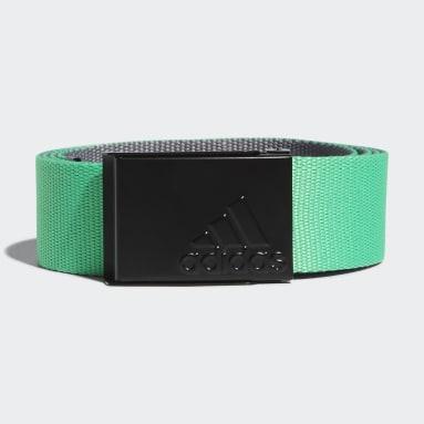 Cintura Reversible Web Verde Uomo Golf