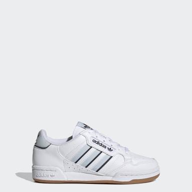 Barn Originals Vit Continental 80 Stripes Shoes