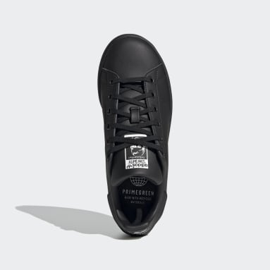 Youth 8-16 Years Originals Black Stan Smith Shoes