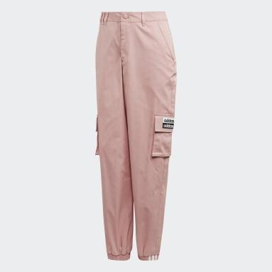 Pants Deportivos - Corte Alto Rosa Mujer Originals