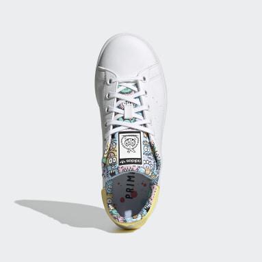 Chaussure adidas x Kevin Lyons Stan Smith Blanc Enfants Originals