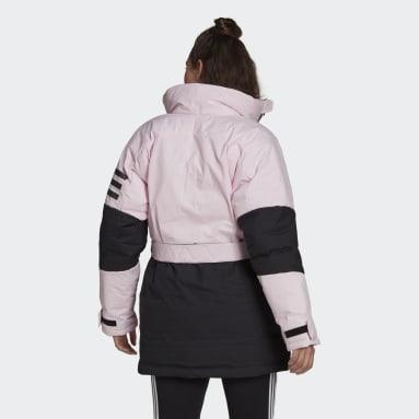 Women City Outdoor Pink Utilitas Down Jacket