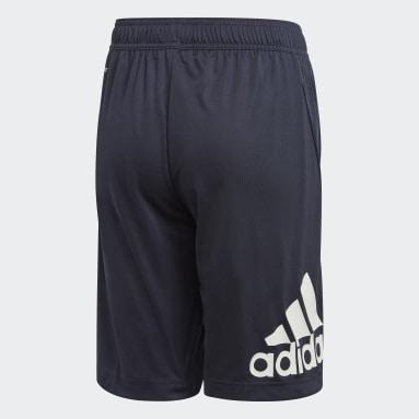 Shorts Training Equipment Azul Niño Training