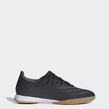 Soccer Black X Ghosted.3 Indoor Soccer Shoes