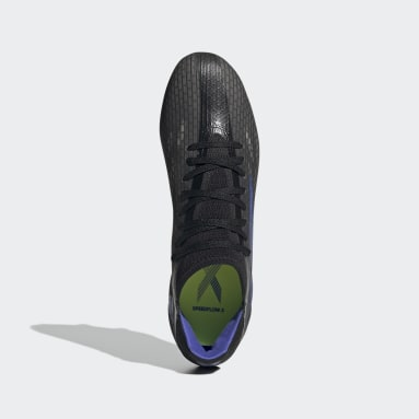 Chaussure X Speedflow.3 Terrain gras Noir Football