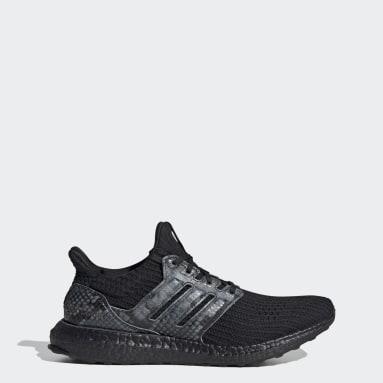 Running Black Ultraboost DNA Black Python Shoes