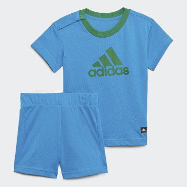 Infant & Toddler Training Blue adidas x Classic LEGO® Tee and Shorts Set