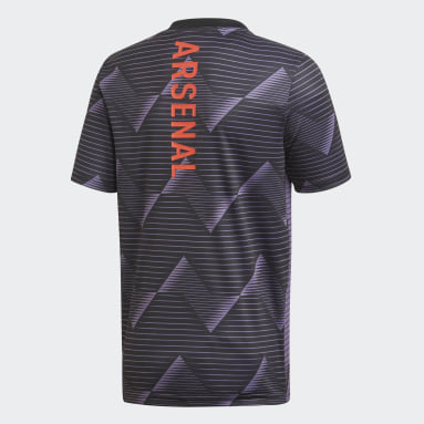 Camiseta calentamiento Arsenal Violeta Niño Fútbol