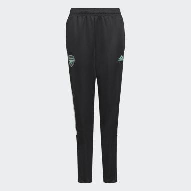 Pantaloni da allenamento Tiro Arsenal FC Nero Bambini Calcio