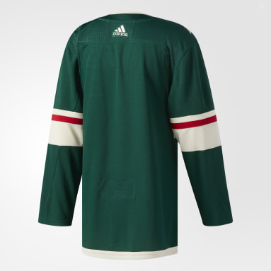 Men's Hockey Green Wild Home Authentic Pro Jersey