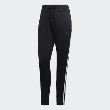 Women Field Hockey Black Design 2 Move 3-Stripes Pants