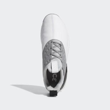 Men Golf White Adicross Bounce 2.0 Shoes