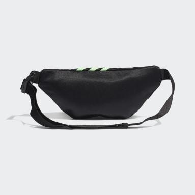 Waist Bag with Swarovski® crystals Czerń