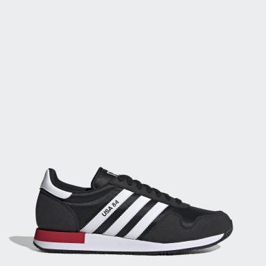 Men Originals Black USA 84 Shoes