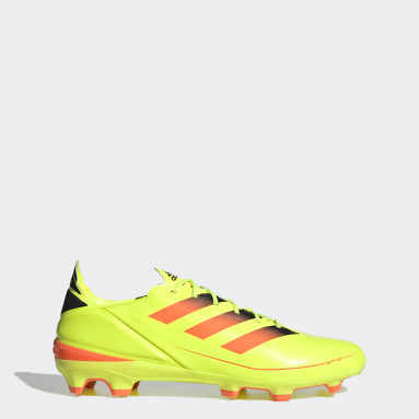 Football Yellow Gamemode Firm Ground Boots