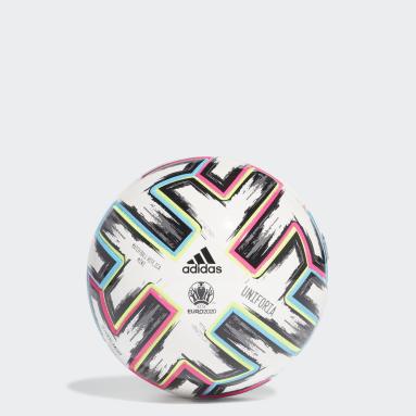 Mini ballon Uniforia Blanc Football