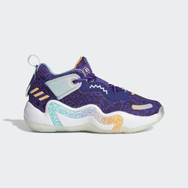 Kids Basketball Purple D.O.N. Issue #3 Shoes