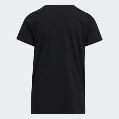 T-shirt Graphic Vent noir Adolescents 8-16 Years Entraînement