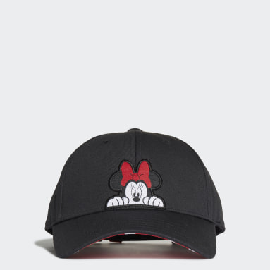 Cappellino Minnie Baseball Nero Bambini Originals