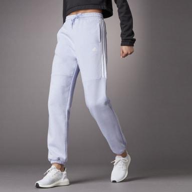 Women Sportswear Purple Hyperglam High-Rise Sweatpants 