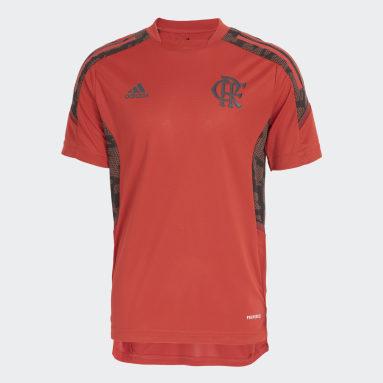 Camisa Treino CR Flamengo Vermelho Kids Futebol