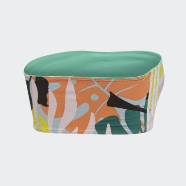 Top Bandeau Tropicalage Multicolor Mujer Originals