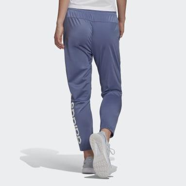 Pants Essentials Logo 7/8 Violeta Mujer Diseño Deportivo