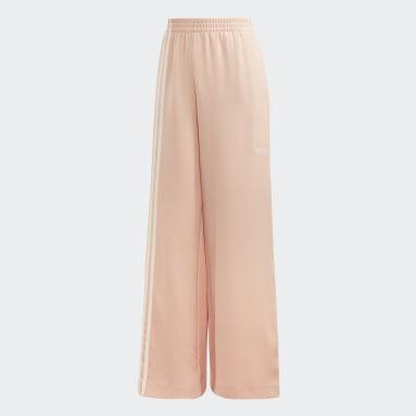 Pantalón Deportivo TLRD - Tiro Medio Beige Mujer Originals