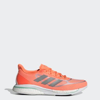 Tenis Supernova+ Naranja Hombre Running