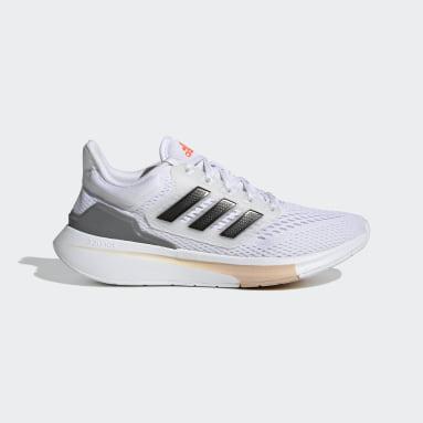 Women's Running White EQ21 Run Shoes
