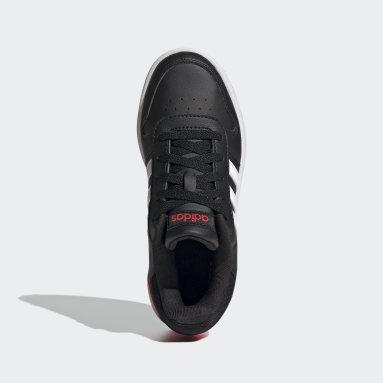 Barn Basket Svart Hoops 2.0 Shoes
