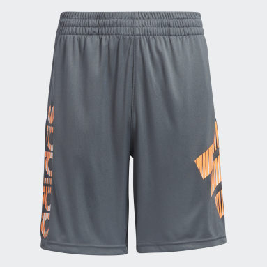 Youth Training Grey In Motion Shorts