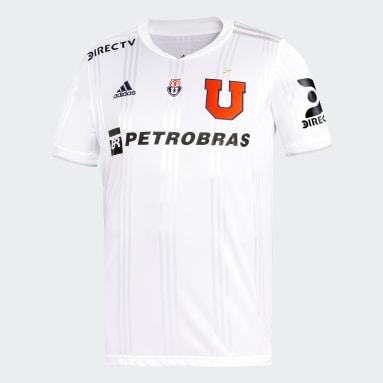 Camiseta Visitante Club Universidad de Chile Blanco Niño Fútbol