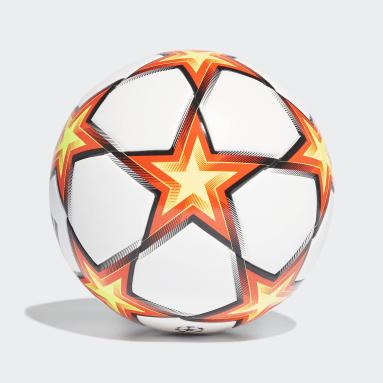Fußball UCL Pyrostorm Junior League Ball Weiß
